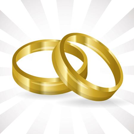 wedding ring icon vector illustration graphic design Иллюстрация