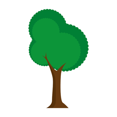 tree icon image over white background icon Ilustração