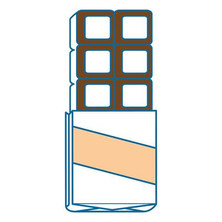 흰색 배경 그래픽 위에 초콜릿 바 디저트 스톡 콘텐츠 - 83190366