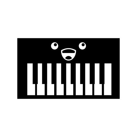 Synth console  character vector illustration design Reklamní fotografie - 83260419