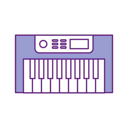 Synth console isolated icon vector illustration design Reklamní fotografie - 83257715