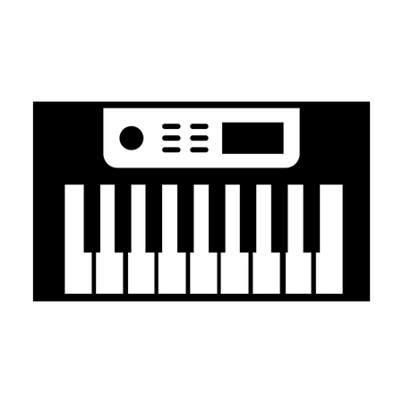 Synth console isolated icon vector illustration design
