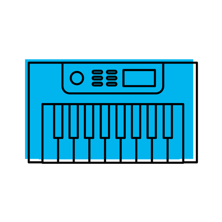 Synth console isolated icon vector illustration design Reklamní fotografie - 83256128