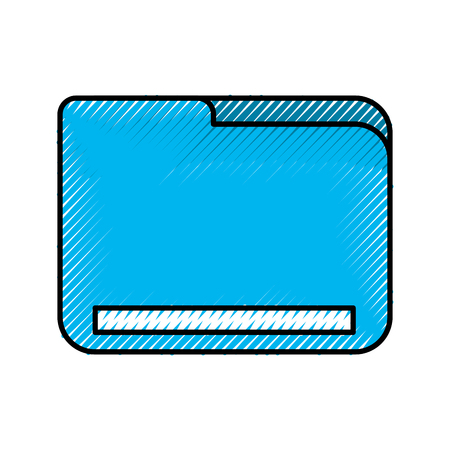 folder document isolated icon vector illustration design Illustration