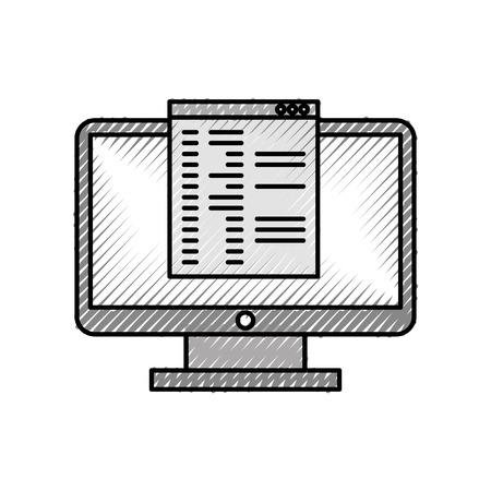 テンプレート ベクトル イラスト デザインとコンピューターのデスクトップ 写真素材 - 83254637