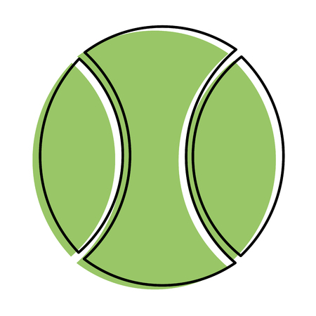 baseball ball icon over white background vector illustration
