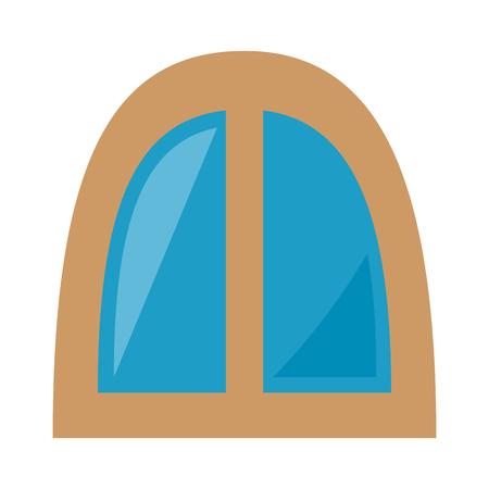 window icon over white background vector illustration Ilustração