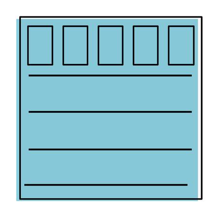 Garage deur icoon over witte achtergrond vector illustratie Stockfoto - 83304513