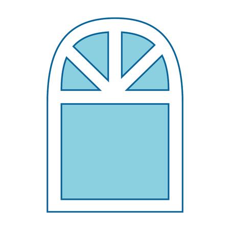 window icon over white background vector illustration Stock fotó