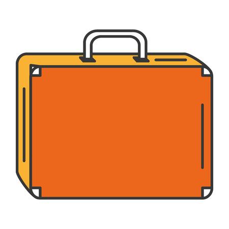 Voyage valise icône isolé design illustration vectorielle Banque d'images - 83310508