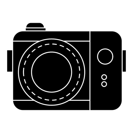 photographic camera isolated icon vector illustration design Stok Fotoğraf - 83316081