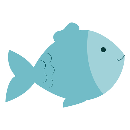 fish pet isolated icon vector illustration design
