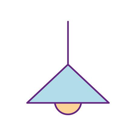 Lampe de cuisine isolé icône illustration vectorielle design Banque d'images - 83366454