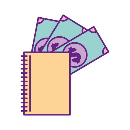 Restaurant account isolated icon vector illustration design Çizim