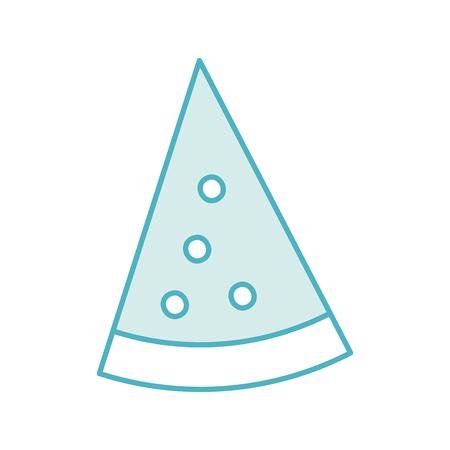 delicious pizza isolated icon vector illustration design Ilustração