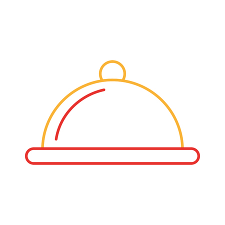 Serveur icône de la barre isolée illustration vectorielle conception Banque d'images - 83367017