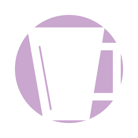 coffee cup isolated icon vector illustration design Stock Vector - 83367230