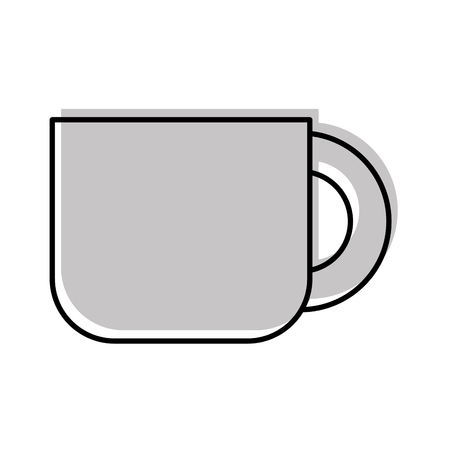 coffee cup isolated icon vector illustration design Stock Vector - 83367850