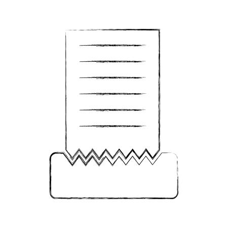 Restaurant account isolated icon vector illustration design Ilustrace