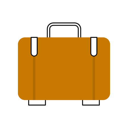 suitcase travel isolated icon vector illustration design Banco de Imagens - 83368366