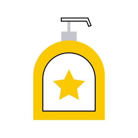 石鹸ディスペンサー ボトル アイコン ベクトル イラスト デザイン