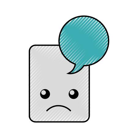 paper document   character vector illustration design Ilustração