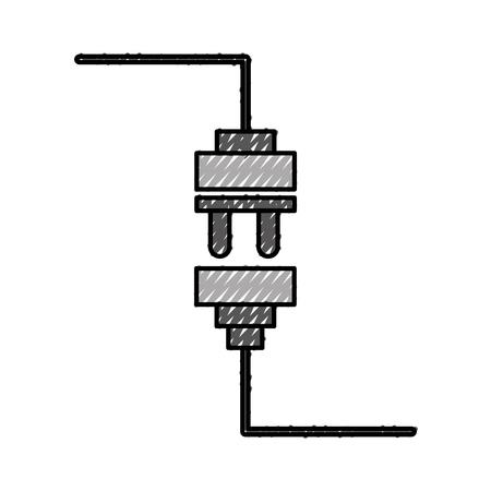 Ziemlich Draht Strom Symbole Galerie - Die Besten Elektrischen ...