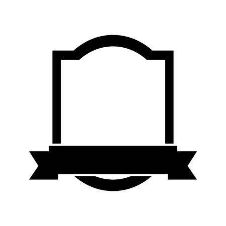 Elegant frame met lint vector illustratie ontwerp