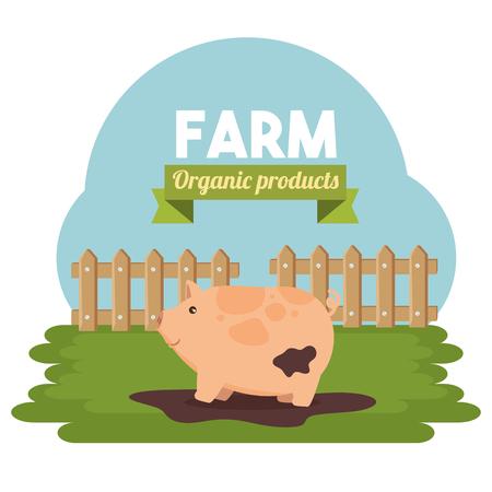 farm animal icon vector illustration graphic design Illustration