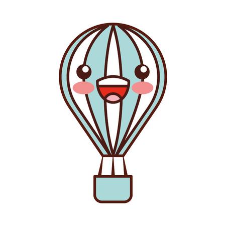 Ballon air chaud caractère vector illustration design Banque d'images - 83636031