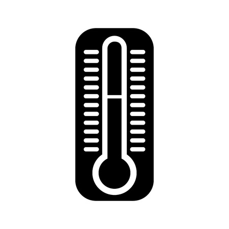 thermometer measure isolated icon vector illustration design Illustration