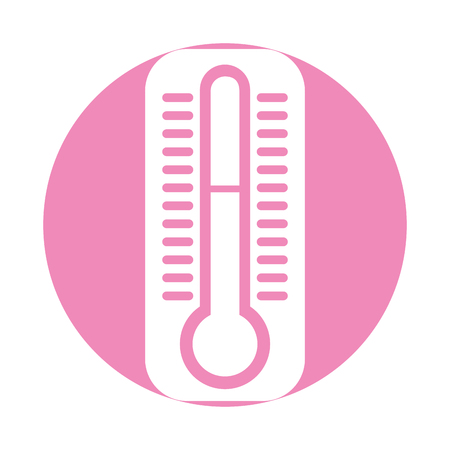 thermometer measure isolated icon vector illustration design 向量圖像