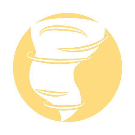 空気分離ツイスター アイコン ベクトル イラスト デザイン