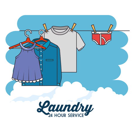 laundry clothes icon vector illustration graphic design