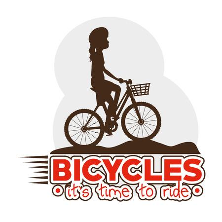 Cycling design illustration graphic icon. Illustration