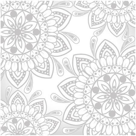 mandalas background vector illustration design icon vector Çizim