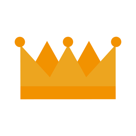 king crown isolated icon vector illustration design Stock Vector - 83782290