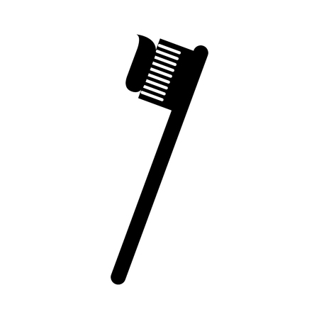 dental toothbrush isolated icon vector illustration design