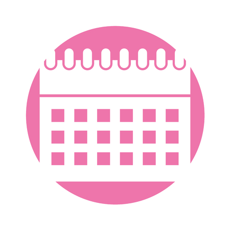 calendar icon: calendar reminder isolated icon vector illustration design