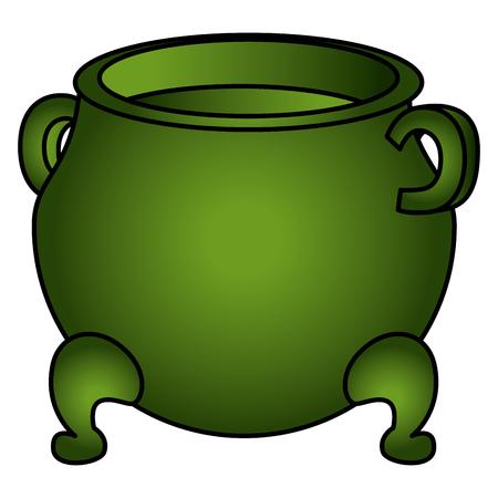 Saint patrick cauldron icon.
