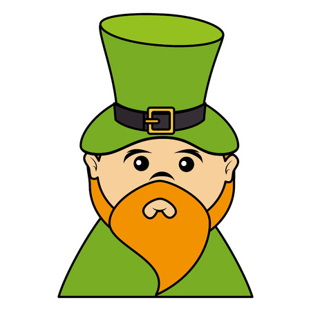 elves: leprechaun avatar character icon vector illustration design Illustration