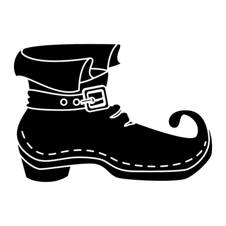 leprechaun boot isolated icon vector illustration design Stok Fotoğraf - 83795093