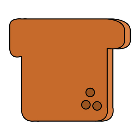 delicious toast bread icon vector illustration design Stok Fotoğraf - 83799381