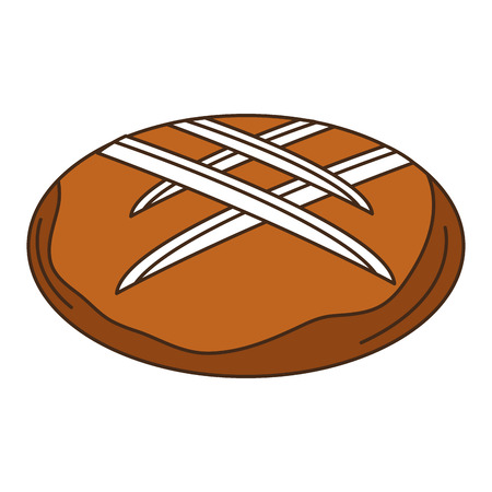 delicious bread isolated icon vector illustration design Zdjęcie Seryjne - 83786952