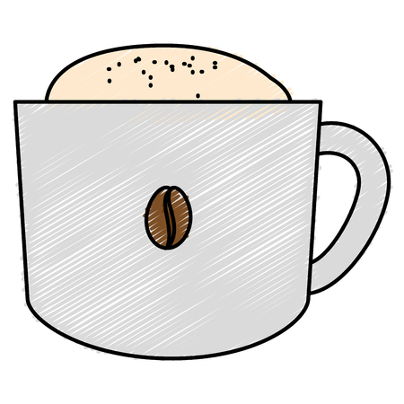 coffee cup isolated icon vector illustration design 向量圖像