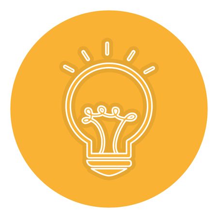 Bulb light isolated icon vector illustration design Banco de Imagens - 83793620