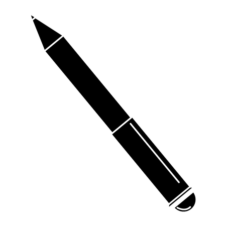 pen writer isolated icon vector illustration design Ilustração