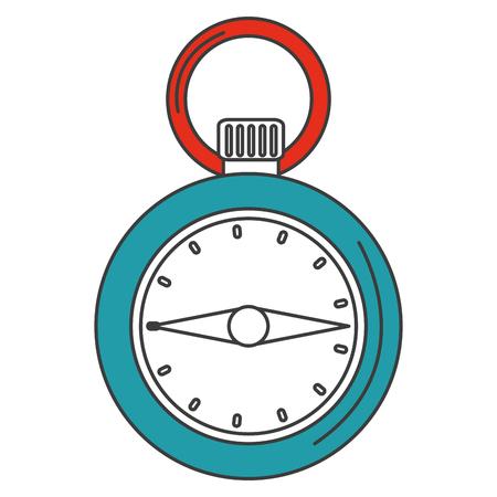 chronometer timer isolated icon vector illustration design