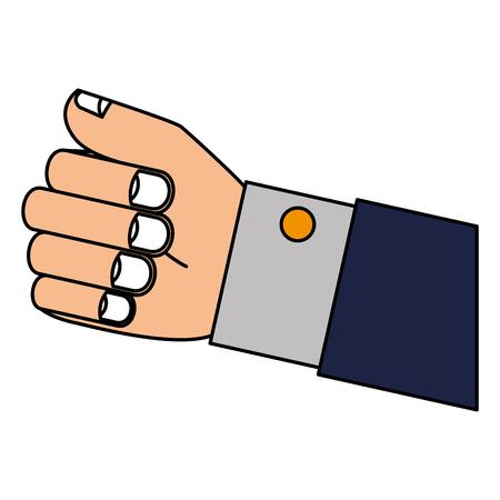 Main prise isolé icône du design d & # 39 ; illustration vectorielle Banque d'images - 83795900