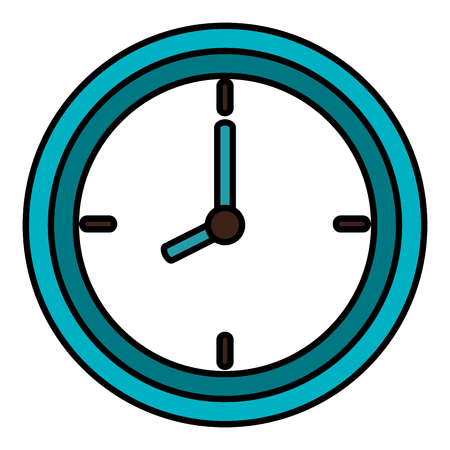 時計アイコン ベクトル イラスト デザインを分離しました。 写真素材 - 83795902